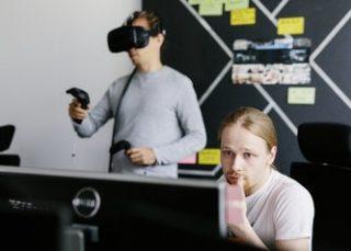 Anwendungsgebiete für Virtual Reality sehen die IT-Experten aus dem Virtual Engineering Lab jede Menge.