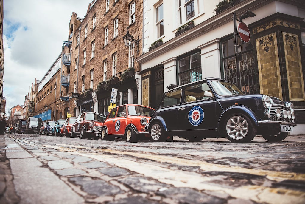 Minis in London
