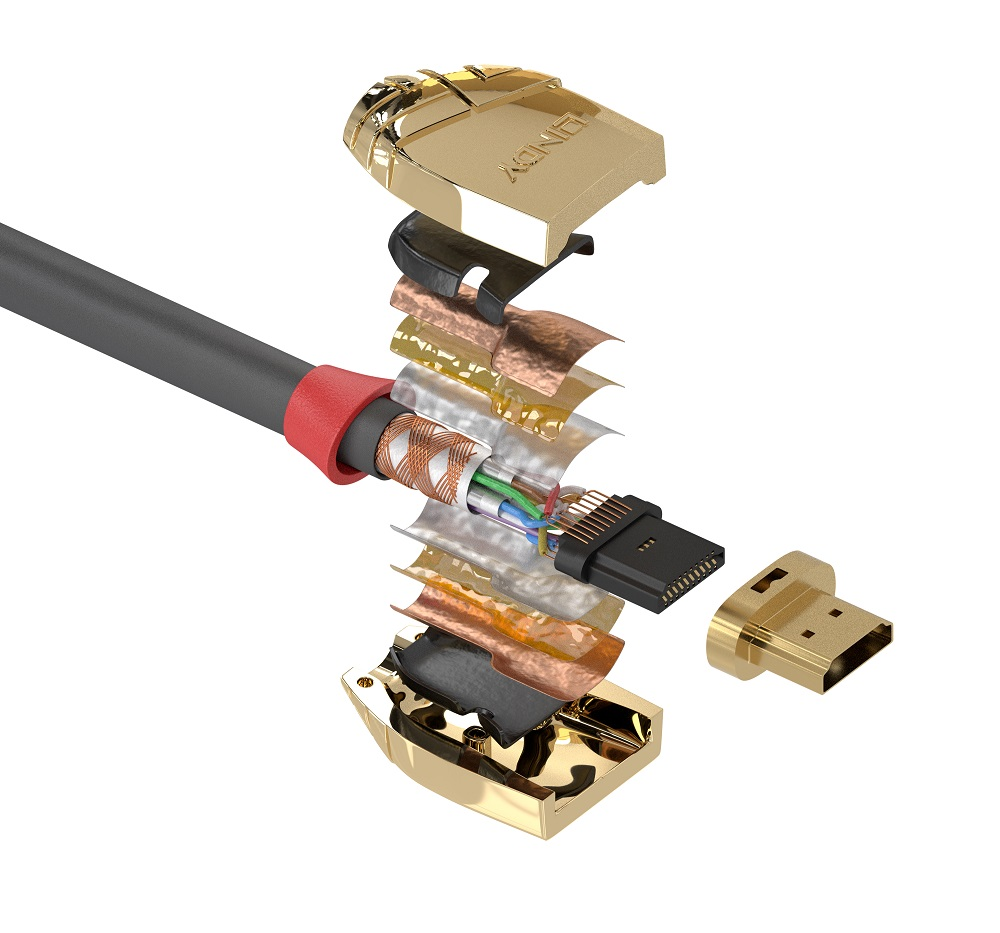 Gold Line-HDMI-Kabel