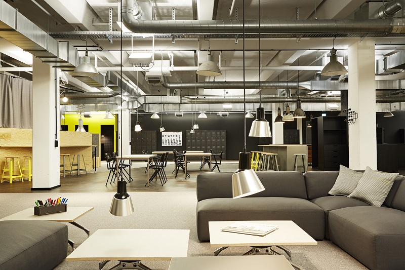 orgatec 2018 der weltweite boom von coworking spaces. Black Bedroom Furniture Sets. Home Design Ideas