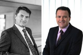 Franz Kraus (l.) und Dr. Michael Neuhäuser