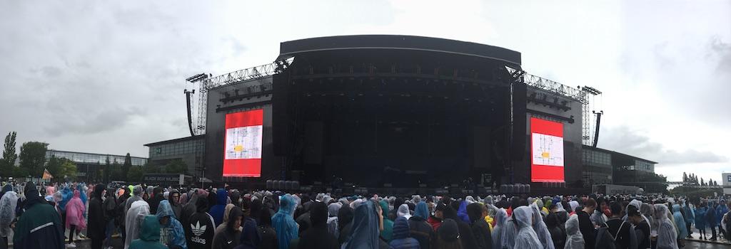 Stageco-Bühne zum Eminem-Konzert in Hannover 2018