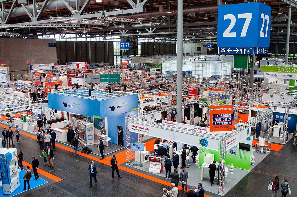 Hannover Messe 2018: Gemeinschaftsstand Hydrogen Fuel Cells and Batteries