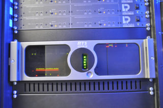 Adam M Intercom-Matrix im Theater Vanemuine