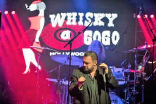 Die Band Alphaville im Club Whiskey A Go Go in den USA