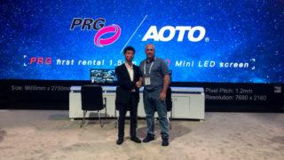 AOTO 1,5 mm COB Mini-LED-Panel für PRG