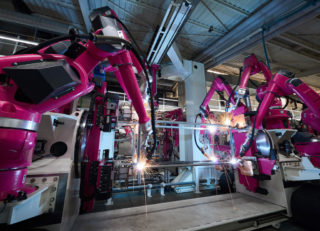 Industrieroboter von Rittal