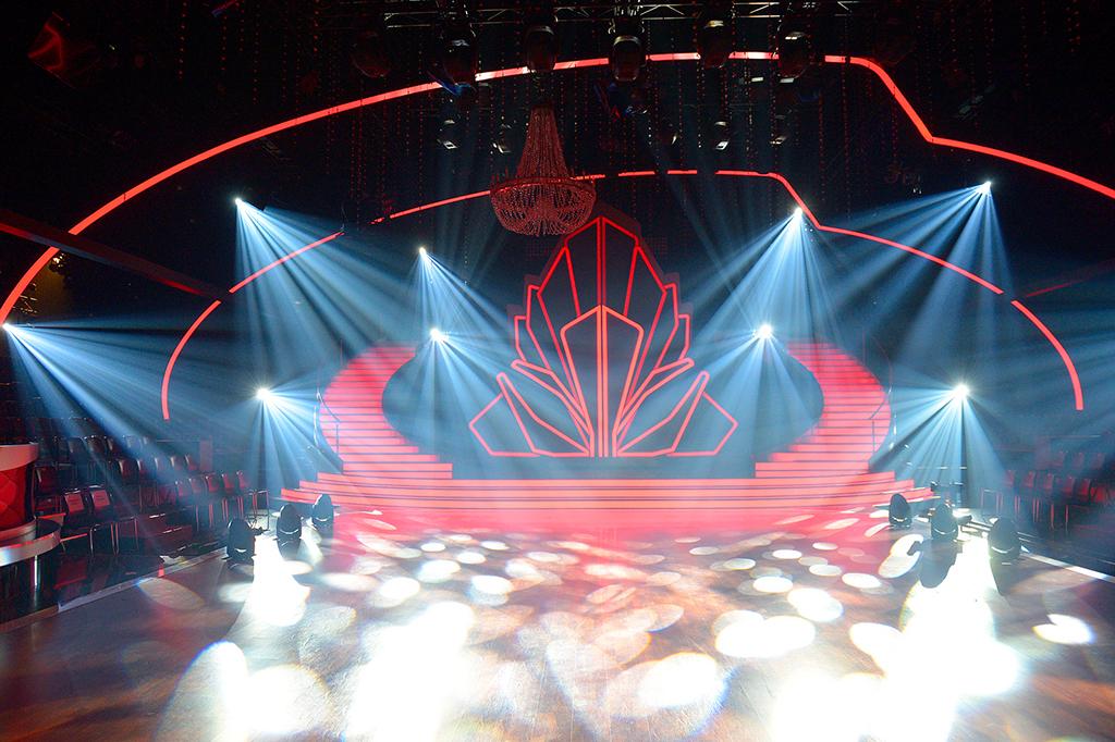 """Blick auf die Bühne der Show """"Let's Dance"""" 2018"""