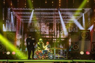 """Blick auf die Bühne bei der """"Faszination Show"""" der Ehrlich Brothers"""