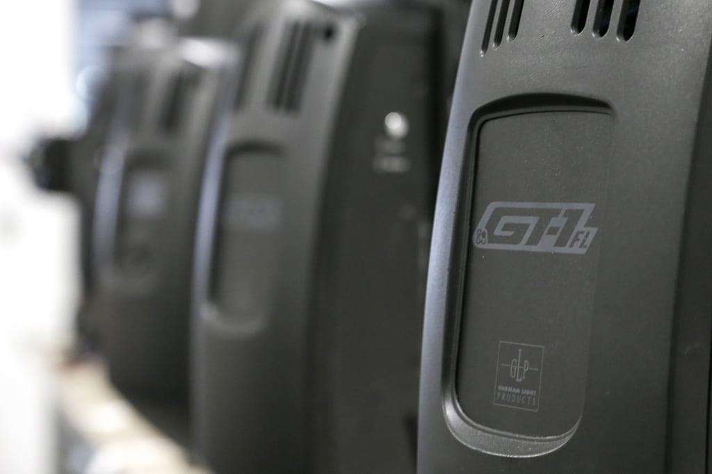 Bezeichnung auf dem Gerätearm: GT-1 FL