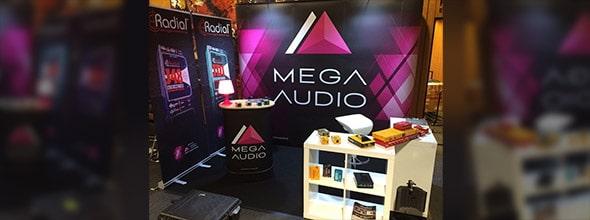 Mega-Audio auf dem Guitar Summit