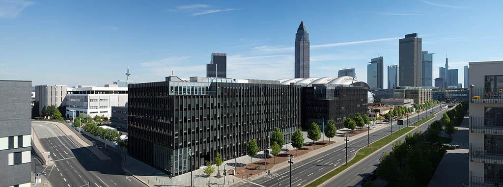 Neumann&Müller Niederlassung in Frankfurt im Meandris-Quartier