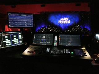 """Eos-Konsole bei der Musical-Produktion """"Mary Poppins"""" im Theater an der Elbe in Hamburg"""