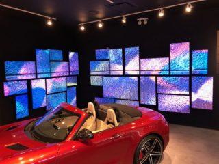 BrightSign-Player steuern Pop-Up Stores von Mercedes-Benz