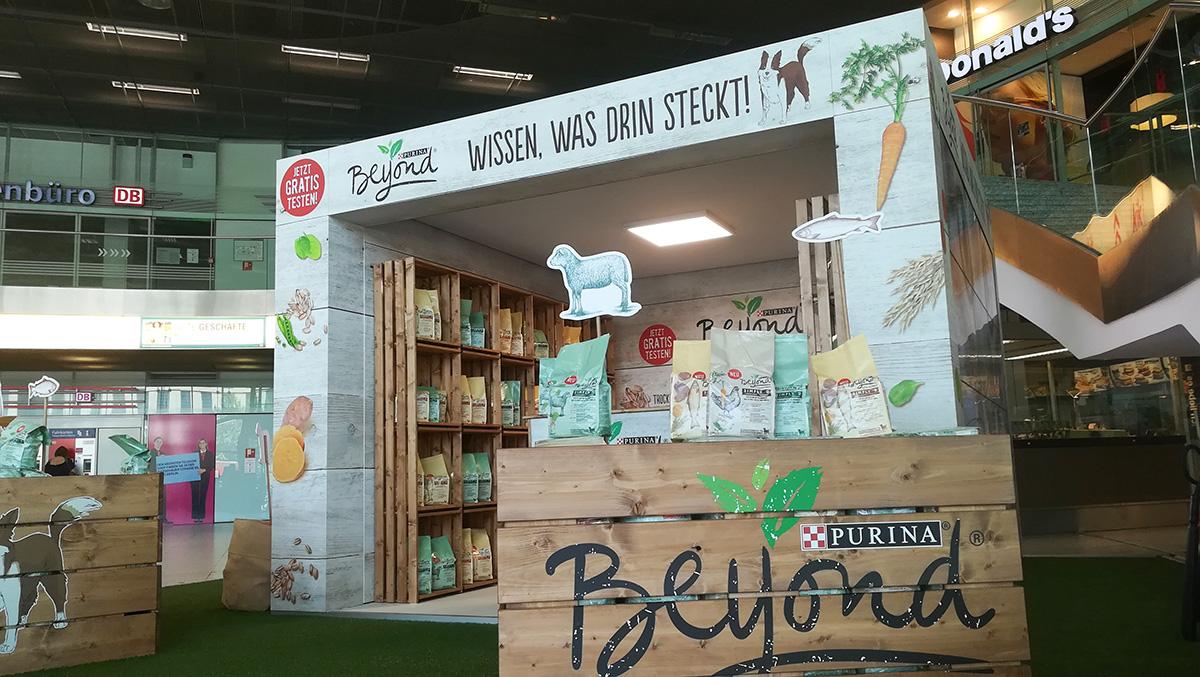 Nestlé Purina und Posterscope setzen auf den Digital BrandCube von Gahrens + Battermann