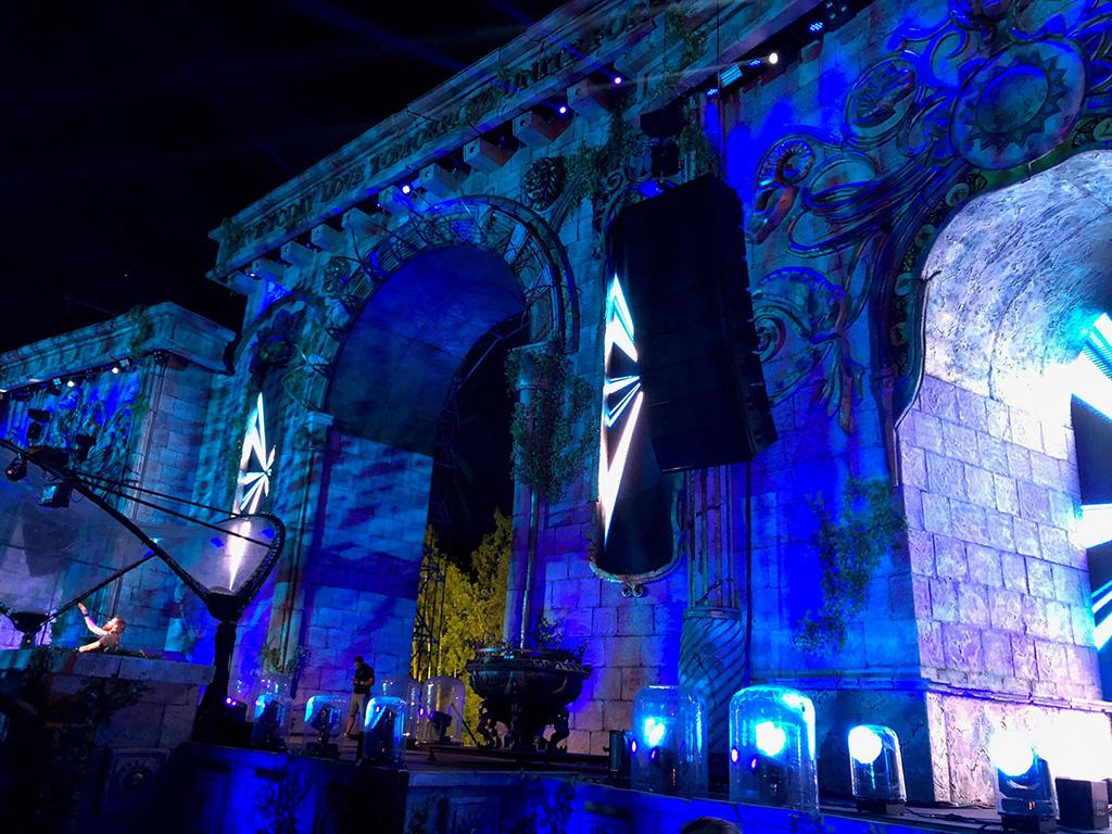 Arch Stage beim Tomorrowland Festival 2018