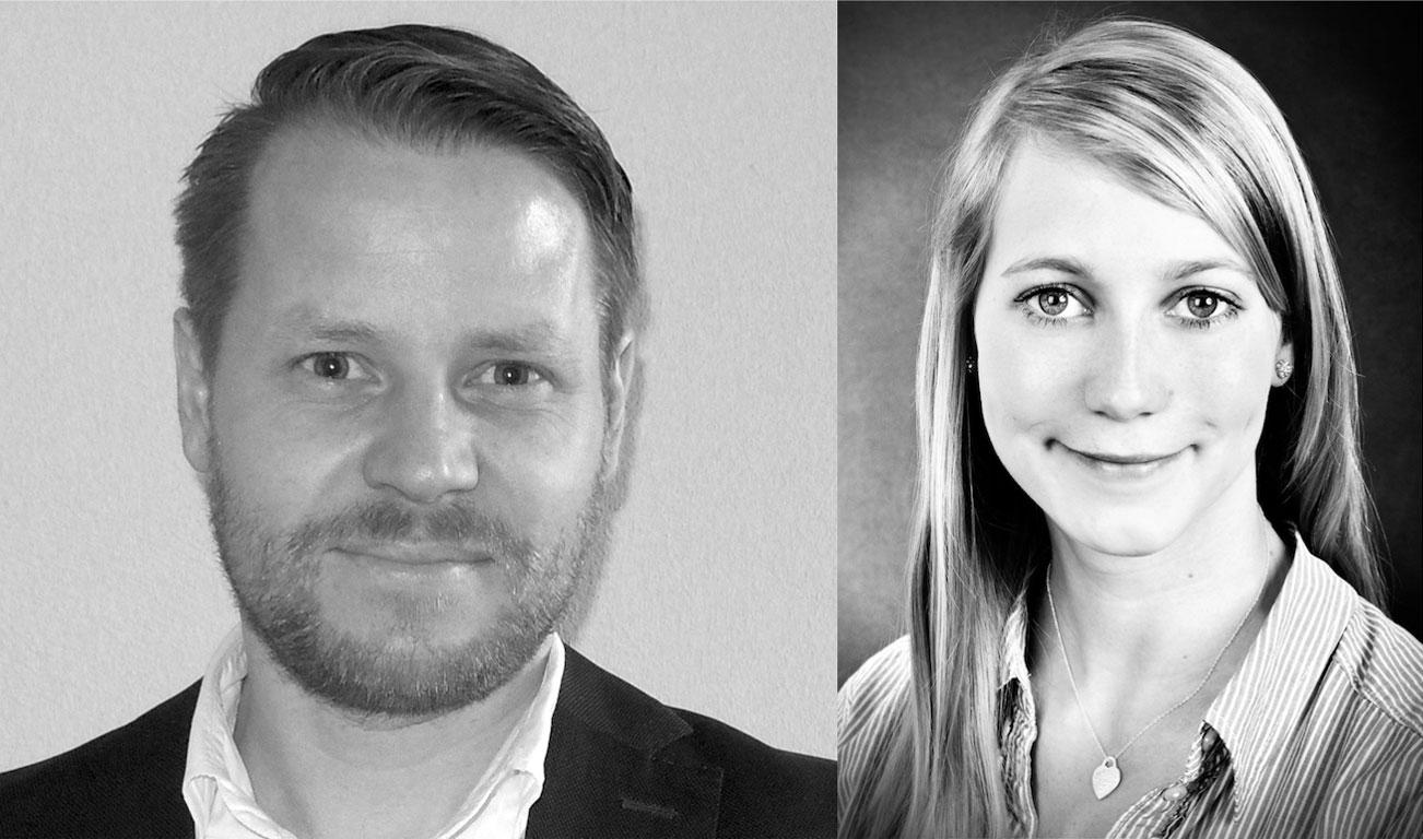 Stefan Seitz und Nadine Buszlapp verstärken das Kölner Büro von PP Live.