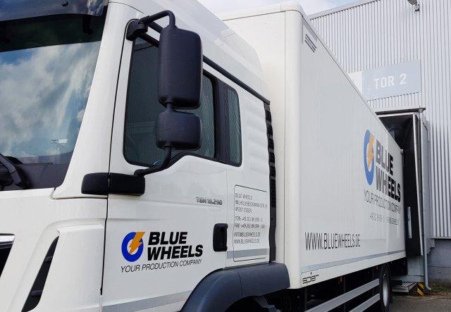 Fuhrparkerweiterung bei Blue Wheels