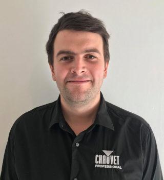Ben Virgo, neuer EU Senior Product Specialist bei Chauvet