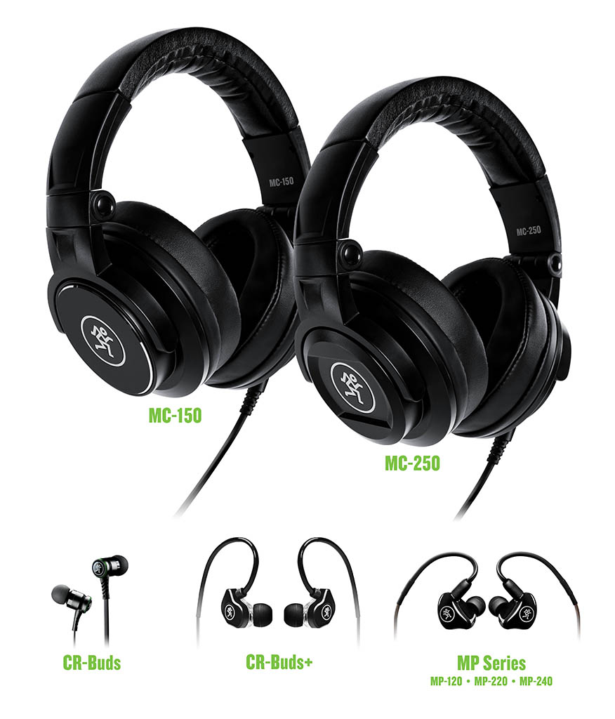 Kopfhörer und In-Ear-Ohrhörer von Mackie