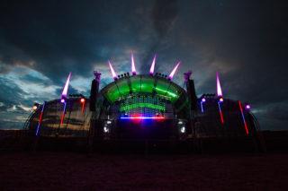Blick auf die Bühne beim Hangover-OpenAir in Wertingen