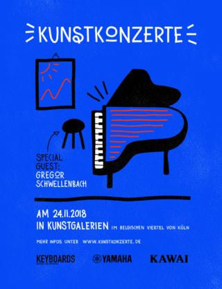 Kunstkonzerte-Flyer