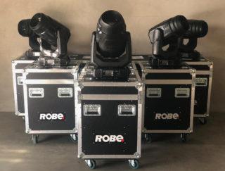 Fünf Robe MegaPointe auf Cases