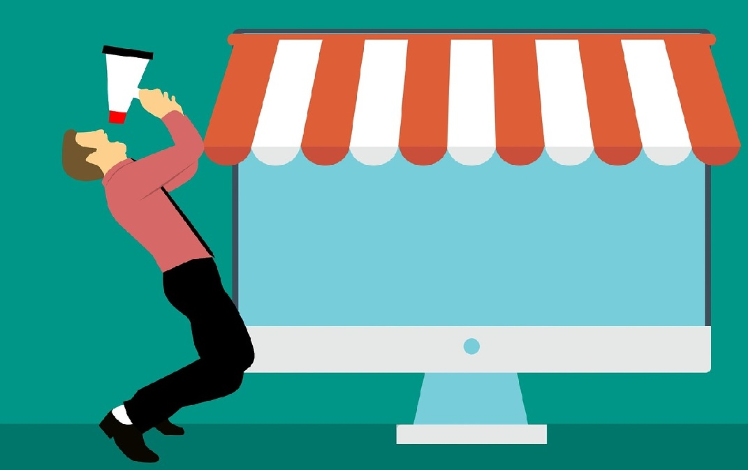 Online Werbung Online handel