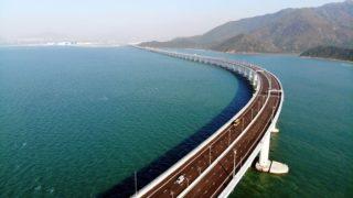 Hongkong-Zhuhai-Macao Brücke
