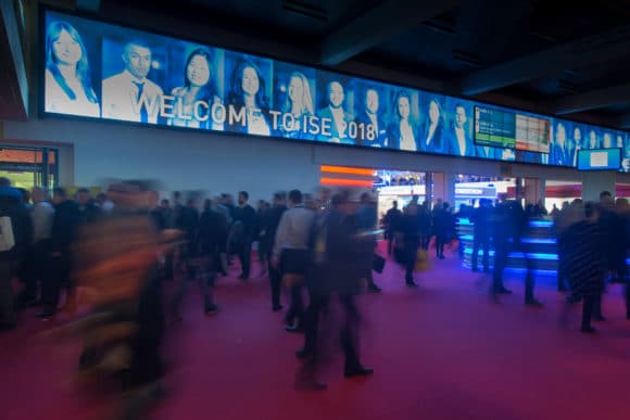 Entrance Area ISE 2018