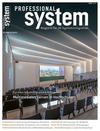 PROFESSIONAL SYSTEM Ausgabe 7/18 ab sofort verfügbar