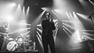 Sänger Joris und ein Teil seiner Band