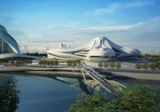 Changsha Meixihu International Culture & Art Center