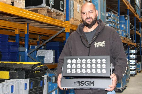 Dennis Rudolph mit der SGM P-6