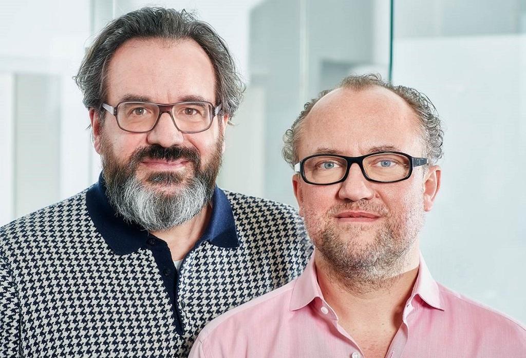 Cedric Ebener (l.) und Michael Giese