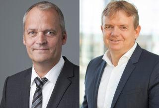 Arnold Stender und Wolfgang Breuer