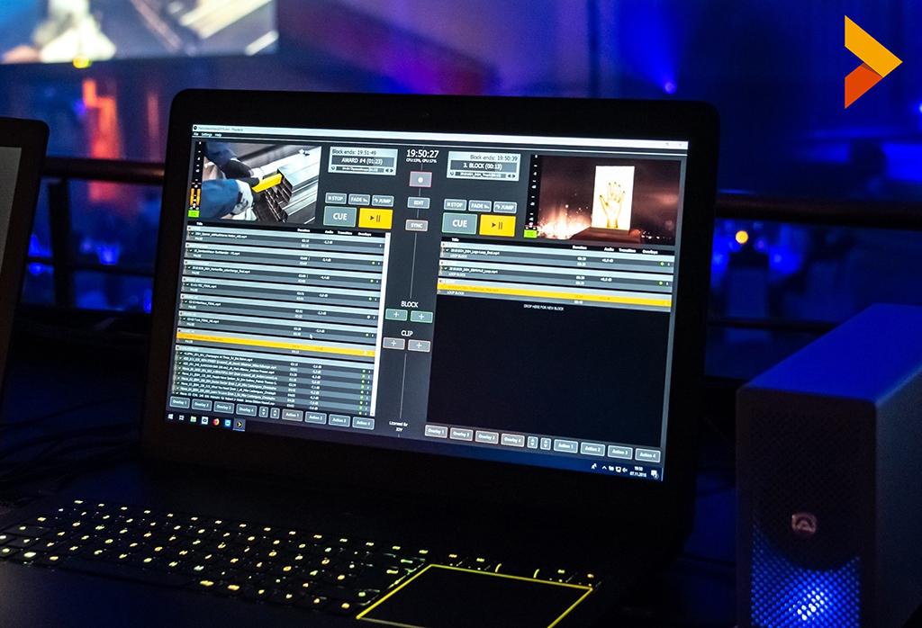 Playdeck Playout-Software für Videos auf Windowsbasis