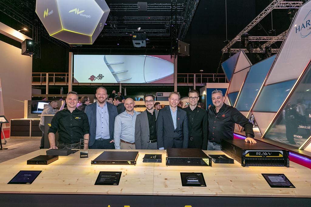 AV Stumpfl Team auf der ISE 2019