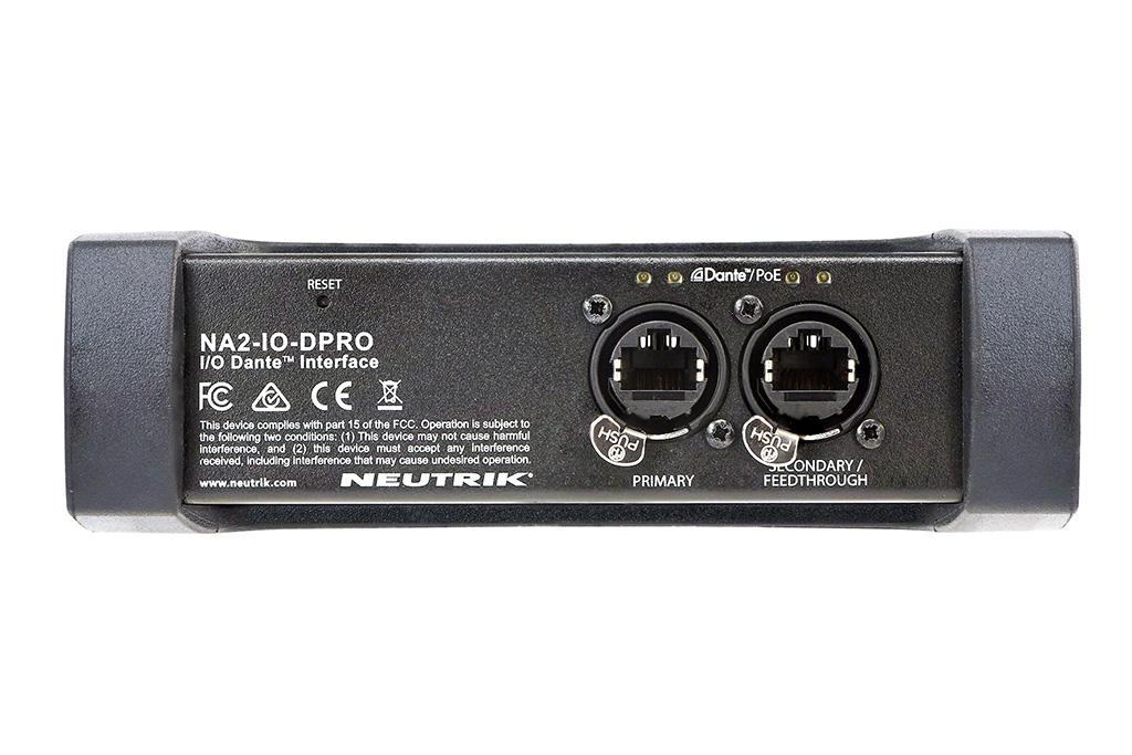 NA2-IO-Dpro Rückseite