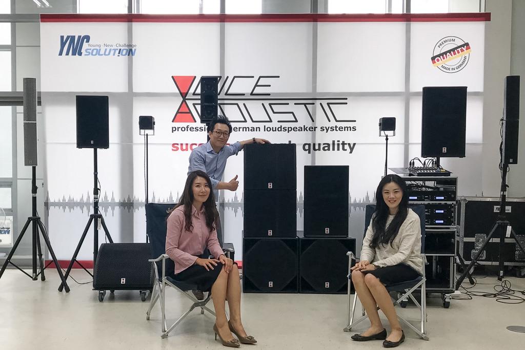 Das Team von YNC Solution