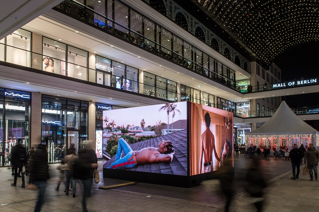 screen visions led cube