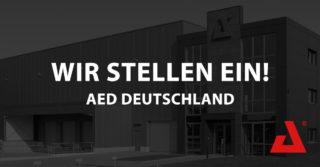 Stellenanzeige AED Deutschland