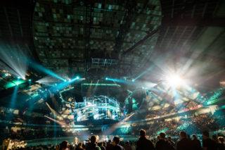Bühnenshow von PUR in der Dortmunder Westfalenhalle
