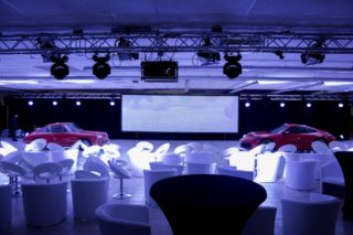 Porsche 992 Präsentation - Pink Event Service Veranstaltungs- und Eventtechnik