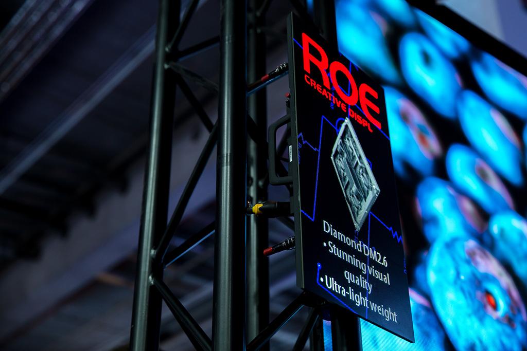 Infotafel zum Diamond DM2.6 LED-Panel von ROE Visual