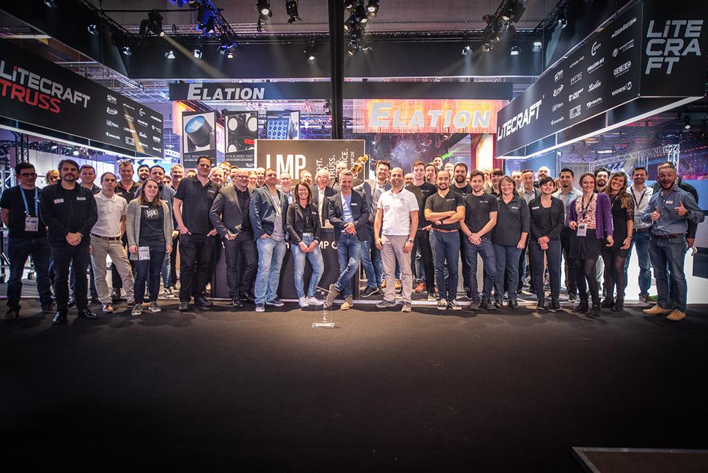 Crew des LMP Stands auf der PLS 2019