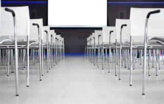 Konferenz-Tagung-Stuhl-Reihe