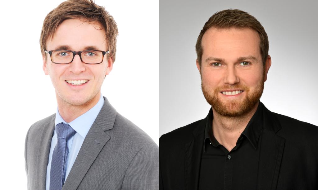Robin Uhlenbruch (l.) und Li Listmann
