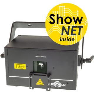 ShowNet-Interface im Laserworld-Laser