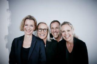 Ansel und Möllers Geschäftsleitung:v.l.n.r.: Grit Wehling, Andrea Vossen, Jochen Ansel,und Katrin Möllers